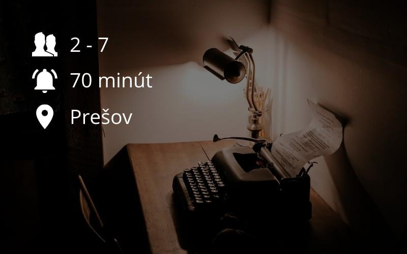 Tajný Agent - Prešov